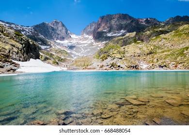 The Lac Blanc, Chamonix, France