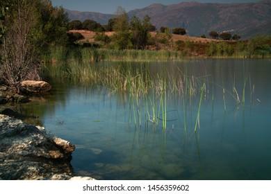 Lac de Padula in the north of Corsica