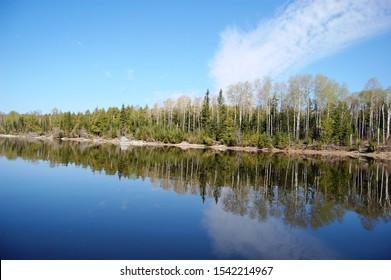 Lac Seul, northwestern Ontario, Canada.