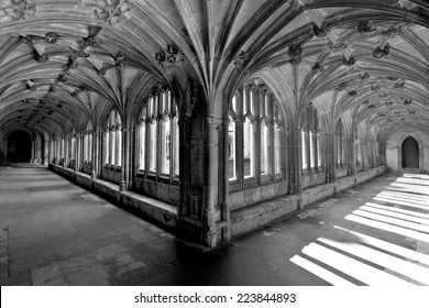 Lacock Abbey Interior Cloisters England