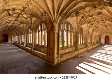 Lacock Abbey Interior Cloisters England