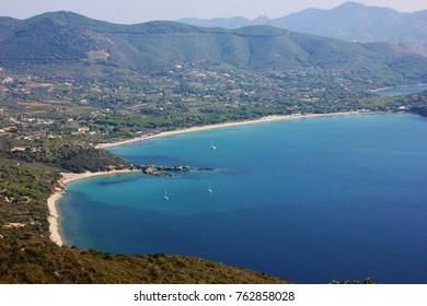 Lacona bay, Elba island. Italy