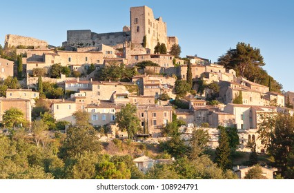 Lacoste the hill top village in Provence