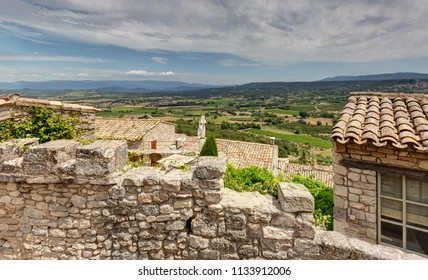 Lacoste in Luberon - Provence - Vaucluse (France)
