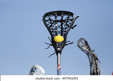 Lacrosse Stick High