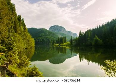 Lacul Rosu - Red Lake, Eastern Carpathians, Romania