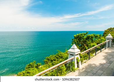 Lad Koh Viewpoint. Look out ocean side. Koh Samui Island, Thailand