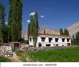 Ladakh House in Nubra Valley India