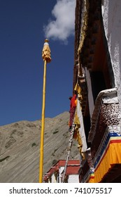 LADAKH, INDIA - SEP 13, 2017 -