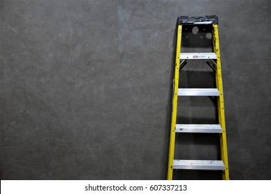 Ladder loft wall