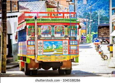 Ladder Truck, Pueblorrico, Southwestern Antioquia, Antioquia