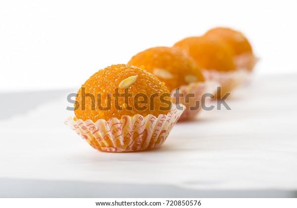 Laddu Laddoo Ballshaped Sweets...