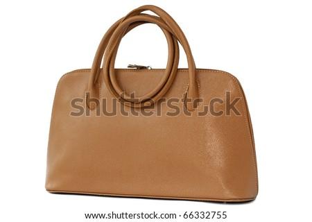 75545f7473 Ladies Handbag Isolated On White Background Stock Photo (Edit Now ...