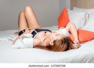 Ladies Sexy version of sensitivity in Asia.