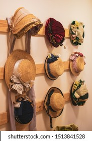 Ladies Victorian Hats on Display