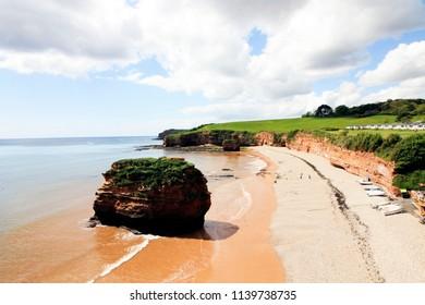 Ladram Bay in Devon