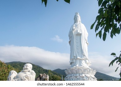 Lady Buddha Da Nang is located at Linh Ung Pagoda on Son Tra Peninsula in Da Nang which is 9 km away from My Khe beach, or 14 km from Da Nang city center.