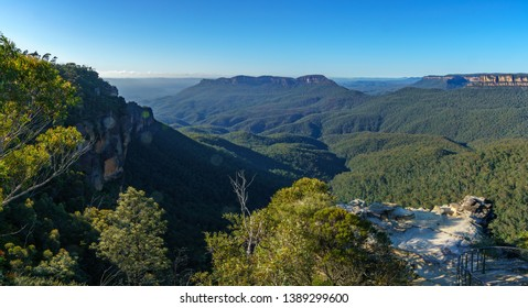 lady darleys lookout, blue mountains national park, katoomba, new south wales, australia