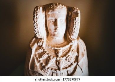 the lady of elche make with stone