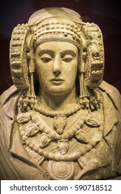 The Lady of Elche pre-Roman sculpture