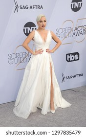 Lady Gaga at the 25th Annual Screen Actors Guild Awards held at the Shrine Auditorium in Los Angeles, USA on January 27, 2019.