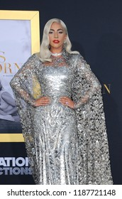 Lady Gaga at the Los Angeles premiere of 'A Star Is Born' held at the Shrine Auditorium in Los Angeles, USA on September 24, 2018.