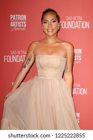 Lady Gaga at the SAG-AFTRA Foundation's 3rd Annual Patron Of The Artists Awards held at the Wallis Annenberg Center in Beverly Hills, USA on November 8, 2018.