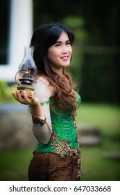 The Lady Holding a Lantern