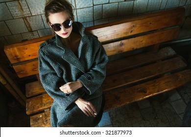 lady in jacket