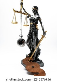 Lady Justica symbol of law and order