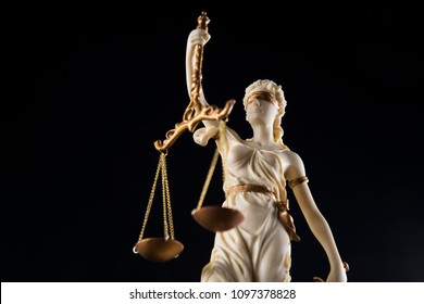 Lady of justice, Law and justice concept