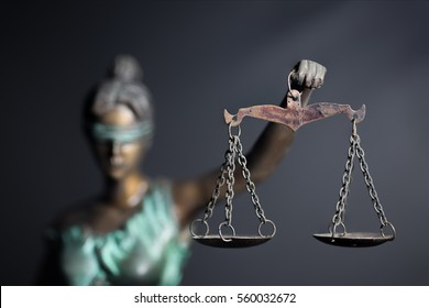 Lady Justice or Themis or Justilia (Goddess of justice)