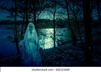 Lady Of The Lake Ghost