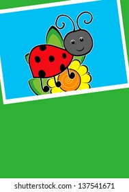 Ladybug - Text