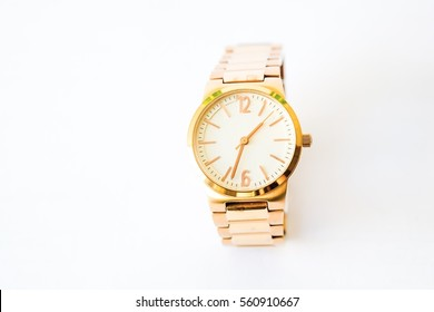 lady's gold watch