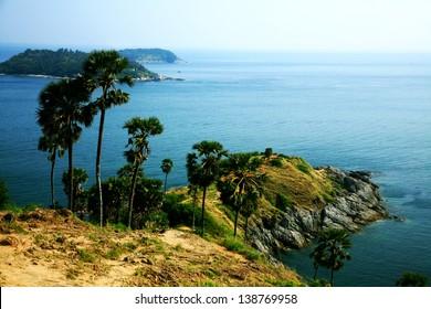 Laem Phrom thep in Phuket island Thailand