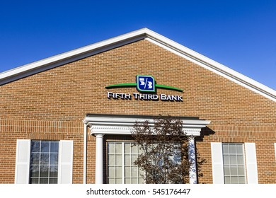 Lafayette - Circa December 2016: Fifth Third Bank ATM. Fifth Third services 15 regions with more than 1,300 locations III