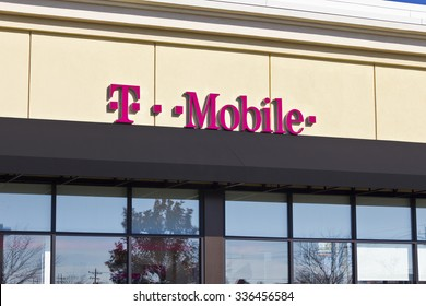 Lafayette, IN - Circa November 2015: T-Mobile Retail Wireless Store. T-Mobile is a wireless provider offering cell phones, data plans, Internet devices & accessories II