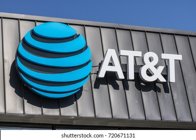 Lafayette - Circa September 2017: AT&T Mobility Wireless Retail Store. AT&T now offers IPTV, VoIP, Cell Phones and DirecTV