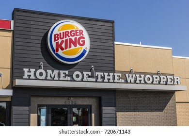Lafayette - Circa September 2017: Burger King Retail Fast Food Location. Every day, more than 11 million guests visit Burger King
