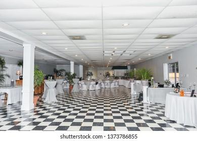 LAFAYETTE, L.A. / USA - APRIL 13, 2013: Magnolia Court wedding and reception hall near Opelousas and Lafayette, Louisiana.