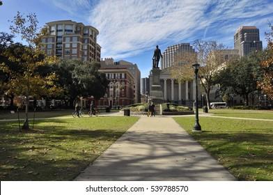 Lafayette Square, New Orleans, Louisiana