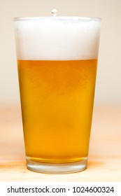 Lager Beer Pour