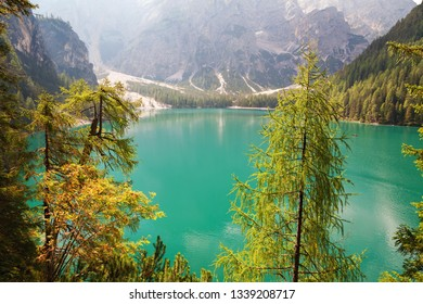 Lago di Braies (Lake Braies, Lake Prags) -  Dolomites, Belluno, Italy