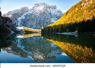 Lago di Braies - Pragser Wildsee, South Tyrol, Italy