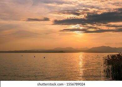 Lago di Garda in north Italy