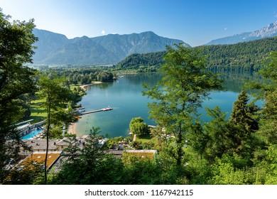 Lago di Levico (Lake), Levico Terme, Trentino Alto Adige, Italy, Europe