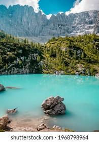 Lago di Sorapis - Dolomites - Italy