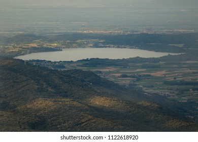 Lago di Viverone Serra Morenica di Ivrea, Piemonte, Italy