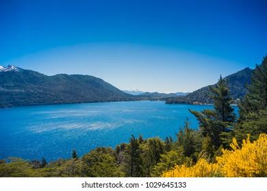 Lago Gutierrez at Patagonia, Argentina.